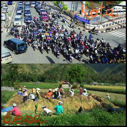 Perbedaan Antara Masyarakat Perkotaan dan Pedesaan
